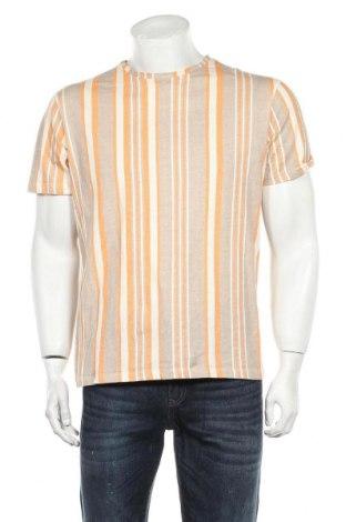 Мъжка тениска Reserved, Размер L, Цвят Многоцветен, Памук, Цена 13,20лв.