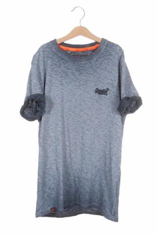 Мъжка тениска Superdry, Размер XS, Цвят Син, Памук, Цена 17,60лв.