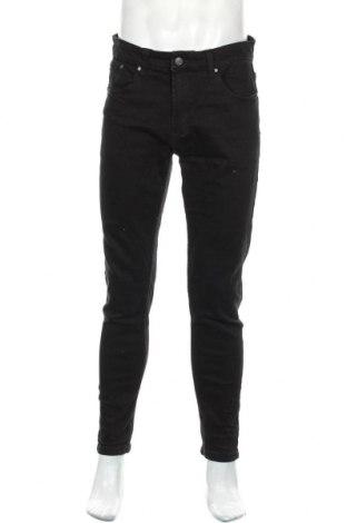 Мъжки дънки Denim Project, Размер L, Цвят Черен, 99% памук, 1% еластан, Цена 29,89лв.