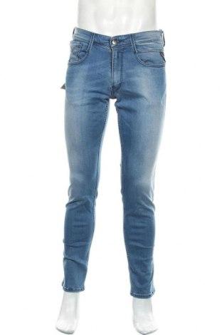 Мъжки дънки Replay, Размер M, Цвят Син, 90% памук, 8% полиестер, 2% еластан, Цена 102,77лв.