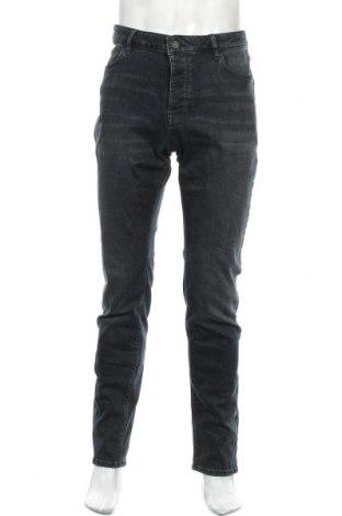 Мъжки дънки Review, Размер L, Цвят Син, 95% памук, 3% полиестер, 2% еластан, Цена 43,47лв.