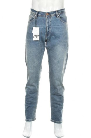 Ανδρικό τζίν Zara, Μέγεθος L, Χρώμα Μπλέ, 98% βαμβάκι, 2% ελαστάνη, Τιμή 22,81€