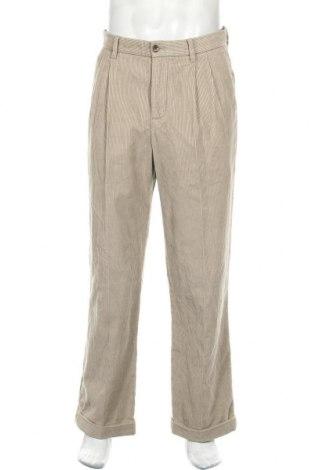 Мъжки джинси Eddie Bauer, Размер M, Цвят Бежов, Памук, Цена 20,25лв.