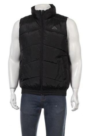Мъжки елек Kappa, Размер XL, Цвят Черен, Полиестер, Цена 29,40лв.