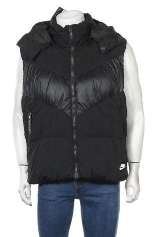 Мъжки елек Nike, Размер XL, Цвят Черен, Полиестер, пух и пера, Цена 119,25лв.
