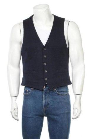 Мъжки елек Pierre Cardin, Размер M, Цвят Син, 38% вълна, 38% полиакрил, 24% полиестер, Цена 35,49лв.