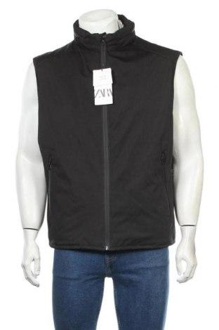 Ανδρικό γιλέκο Zara, Μέγεθος XL, Χρώμα Μαύρο, Πολυεστέρας, Τιμή 26,68€