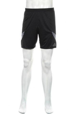Мъжки къс панталон Adidas, Размер S, Цвят Черен, Полиестер, Цена 28,50лв.