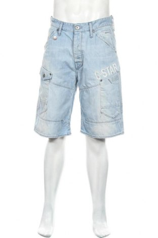 Ανδρικό κοντό παντελόνι G-Star Raw, Μέγεθος M, Χρώμα Μπλέ, Βαμβάκι, Τιμή 22,27€