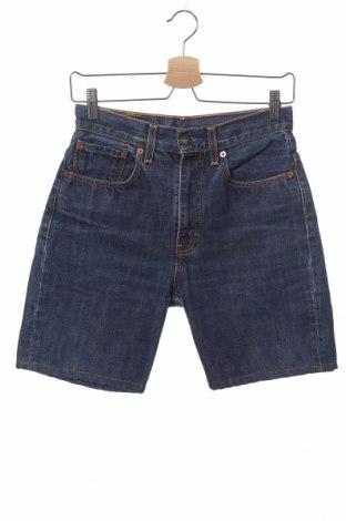 Мъжки къс панталон Levi's, Размер XS, Цвят Син, Памук, Цена 28,50лв.