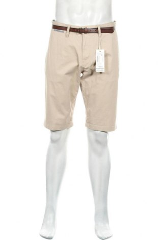 Мъжки къс панталон Tom Tailor, Размер L, Цвят Бежов, 97% памук, 3% еластан, Цена 16,56лв.