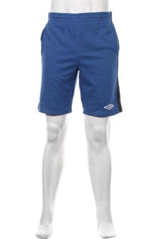 Pánské kraťasy Umbro, Velikost M, Barva Modrá, 60% bavlna, 40% polyester, Cena  351,00Kč