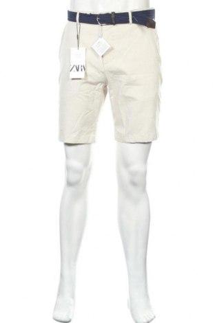 Pánské kraťasy Zara, Velikost M, Barva Šedá, 98% bavlna, 2% elastan, Cena  335,00Kč