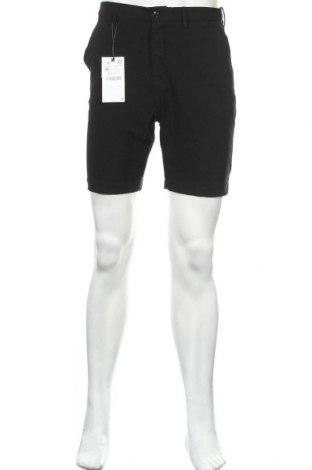 Pánské kraťasy Zara, Velikost S, Barva Černá, 64% polyester, 31% viskóza, 5% elastan, Cena  391,00Kč