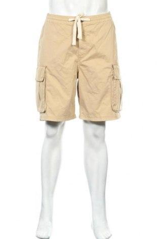 Pánské kraťasy Zara, Velikost L, Barva Béžová, 97% bavlna, 3% elastan, Cena  391,00Kč