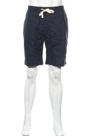 Pánské kraťasy Zara, Velikost M, Barva Modrá, 55% len, 45% bavlna, Cena  391,00Kč