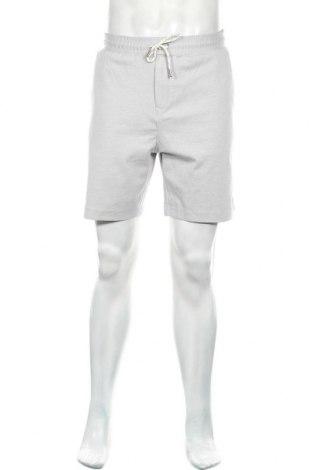 Pánské kraťasy Zara Man, Velikost L, Barva Šedá, 67% bavlna, 27% polyamide, 6% elastan, Cena  335,00Kč