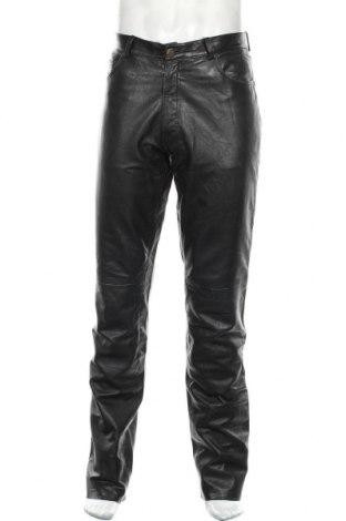 Pánské kožené kalhoty  Gipsy, Velikost M, Barva Černá, Pravá kůže, Cena  1371,00Kč
