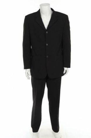 Ανδρικό κοστούμι 4You, Μέγεθος L, Χρώμα Μαύρο, 66% πολυεστέρας, 32% βισκόζη, 2% ελαστάνη, Τιμή 16,43€