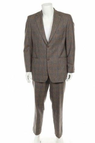 Ανδρικό κοστούμι Hugo Boss, Μέγεθος L, Χρώμα  Μπέζ, Μαλλί, Τιμή 95,73€