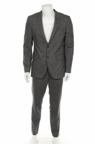 Ανδρικό κοστούμι Hugo Boss, Μέγεθος M, Χρώμα Γκρί, 72% μαλλί, 26% πολυαμίδη, 2% ελαστάνη, Τιμή 111,45€