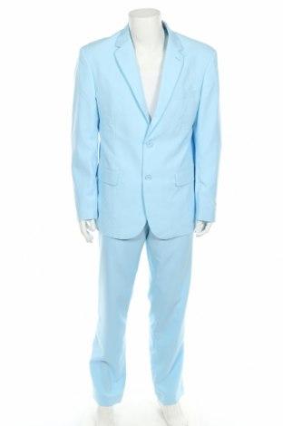 Costum de bărbați Oppo Suits, Mărime XL, Culoare Albastru, Poliester, Preț 300,00 Lei