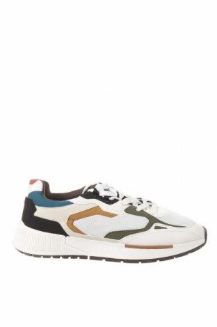 Ανδρικά παπούτσια Bershka, Μέγεθος 44, Χρώμα Πολύχρωμο, Δερματίνη, κλωστοϋφαντουργικά προϊόντα, Τιμή 15,91€