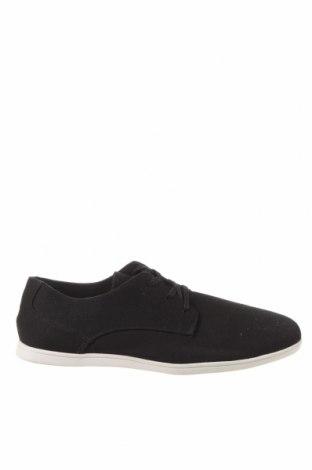 Ανδρικά παπούτσια Lefties, Μέγεθος 41, Χρώμα Μαύρο, Κλωστοϋφαντουργικά προϊόντα, Τιμή 16,88€