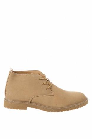 Ανδρικά παπούτσια Lefties, Μέγεθος 43, Χρώμα  Μπέζ, Κλωστοϋφαντουργικά προϊόντα, Τιμή 13,64€