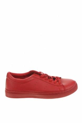 Ανδρικά παπούτσια Lft, Μέγεθος 41, Χρώμα Κόκκινο, Δερματίνη, Τιμή 11,62€