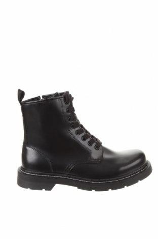 Мъжки обувки Pull&Bear, Размер 42, Цвят Черен, Еко кожа, Цена 37,95лв.