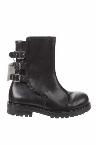 Încălțăminte bărbătească Zara, Mărime 41, Culoare Negru, Piele naturală, Preț 392,27 Lei