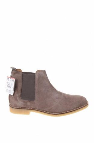 Ανδρικά παπούτσια Zara, Μέγεθος 42, Χρώμα  Μπέζ, Φυσικό σουέτ, Τιμή 28,66€