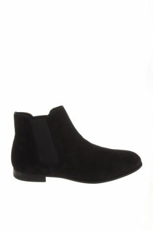 Ανδρικά παπούτσια Zara, Μέγεθος 44, Χρώμα Μαύρο, Φυσικό σουέτ, Τιμή 48,38€