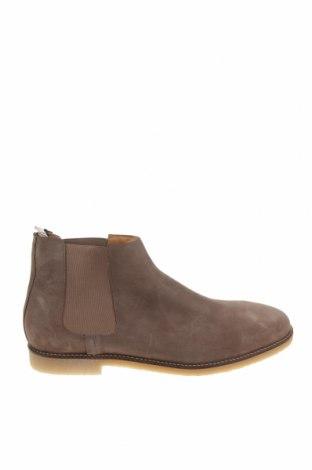 Pánské boty Zara, Velikost 46, Barva Hnědá, Přírodní velur , Cena  1511,00Kč