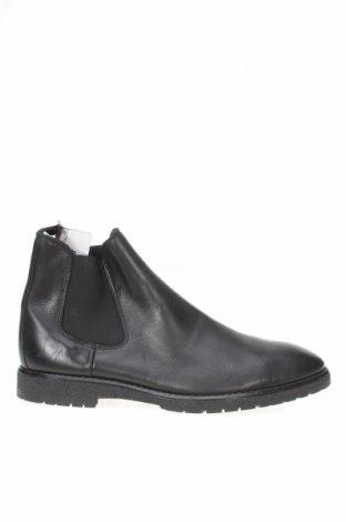 Мъжки обувки Zara, Размер 43, Цвят Черен, Еко кожа, Цена 51,00лв.
