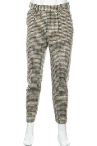 Мъжки панталон ASOS, Размер M, Цвят Многоцветен, 100% вълна, Цена 28,50лв.