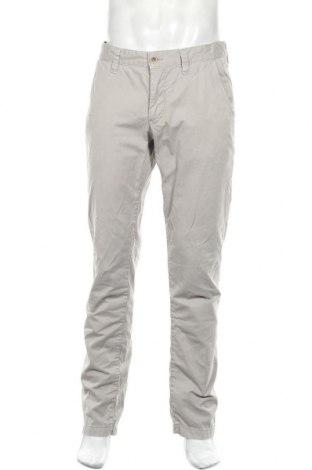 Мъжки панталон Alberto, Размер L, Цвят Сив, 97% памук, 3% еластан, Цена 23,04лв.
