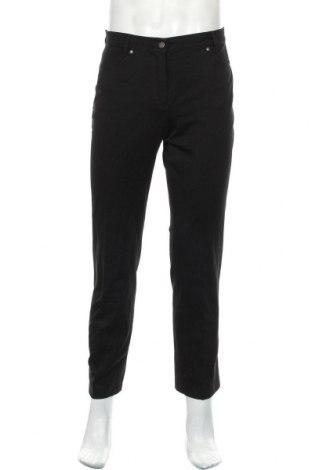 Мъжки панталон Atelier GARDEUR, Размер M, Цвят Черен, Памук, еластан, Цена 35,25лв.
