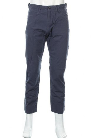 Мъжки панталон Calvin Klein, Размер M, Цвят Син, 100% памук, Цена 50,25лв.