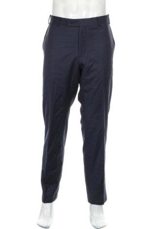 Pantaloni de bărbați Daniel Hechter, Mărime XL, Culoare Albastru, Lână, Preț 435,20 Lei