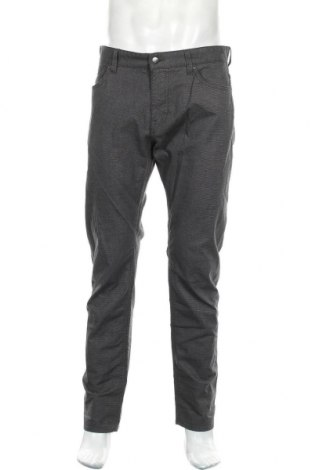 Pantaloni de bărbați Hugo Boss, Mărime L, Culoare Gri, 98% bumbac, 2% elastan, Preț 669,08 Lei