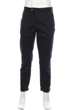 Ανδρικό παντελόνι Lyle & Scott, Μέγεθος L, Χρώμα Μπλέ, 97% βαμβάκι, 3% ελαστάνη, Τιμή 18,71€