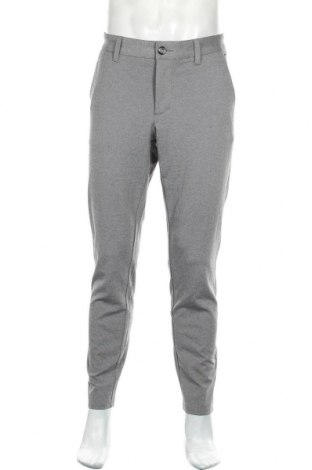 Pantaloni de bărbați Only & Sons, Mărime L, Culoare Gri, 64% viscoză, 31% poliester, 5% elastan, Preț 181,91 Lei