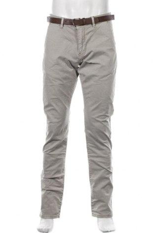 Pantaloni de bărbați Q/S by S.Oliver, Mărime L, Culoare Bej, 97% bumbac, 3% elastan, Preț 125,89 Lei