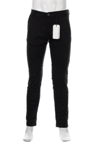 Pantaloni de bărbați Q/S by S.Oliver, Mărime M, Culoare Negru, 98% bumbac, 2% elastan, Preț 97,60 Lei
