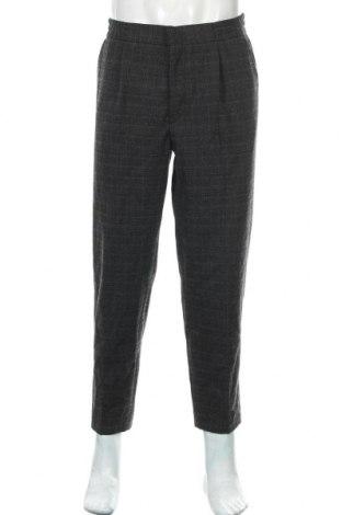 Pantaloni de bărbați Review, Mărime L, Culoare Gri, 81% poliester, 19% viscoză, Preț 128,39 Lei