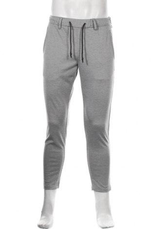Pantaloni de bărbați S.Oliver, Mărime S, Culoare Gri, 74% poliester, 22% viscoză, 4% elastan, Preț 155,92 Lei