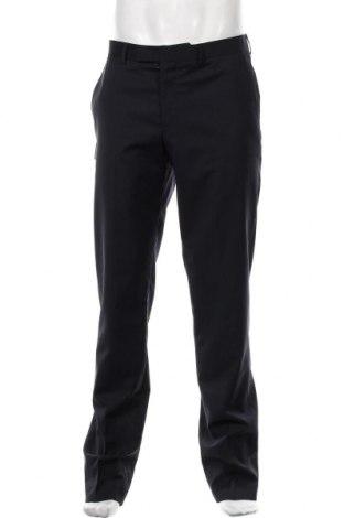 Pantaloni de bărbați S.Oliver, Mărime M, Culoare Albastru, Lână, Preț 275,82 Lei