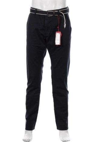 Мъжки панталон S.Oliver, Размер XL, Цвят Син, 98% памук, 2% еластан, Цена 66,75лв.